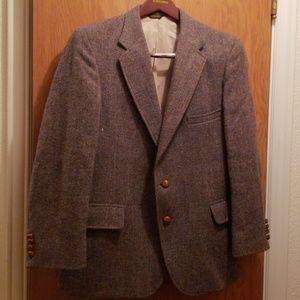 Men's 100% wool blazer